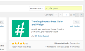 Plugin de Posts Populares no WordPress
